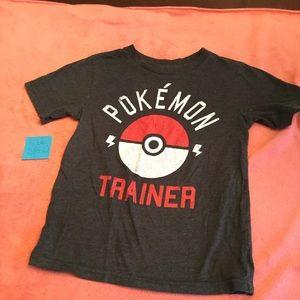 Gray Pokémon trainer T-shirt